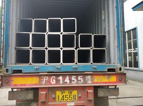 Chine Nouvelles sur 980 tonnes de RHS (tubes en acier rectangulaires sans couture) se sont transportées en Israël pour le grand projet d'Ormat !
