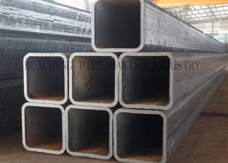Tube structurel en acier du rectangle ERW fournisseur