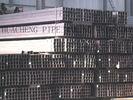 Le Meilleur Tube en acier rectangulaire de mur épais, tuyau d'acier de place de fondation à vendre